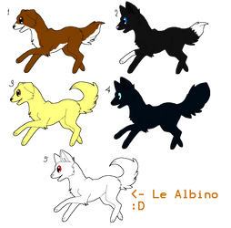Puppy Adoptables! .:ALL OPEN:. by CaelynTheHedgehog13