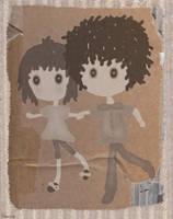 2 Chibis by bebesushii