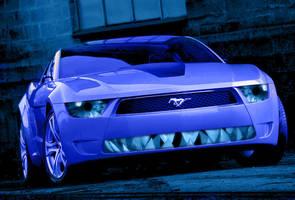 Mustang Giugiaro 01 by bebesushii