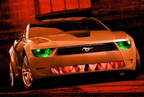Mustang Giugiaro 02 by bebesushii
