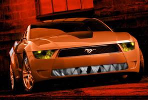Mustang Giugiaro 03 by bebesushii