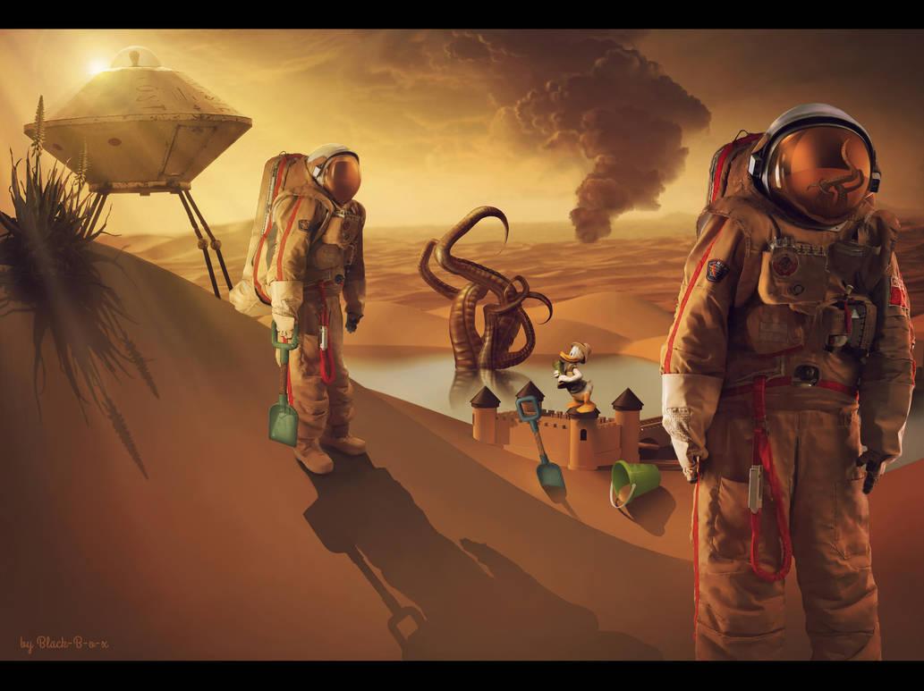 Mission To Mars by Black-B-o-x