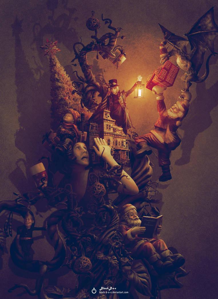 Christmas Nightmare by Black-B-o-x