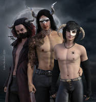 The Masked Ones by LukaSkullard