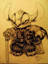 Stitch Vader by TehChan