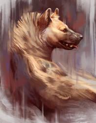 HyenaPainting by TehChan