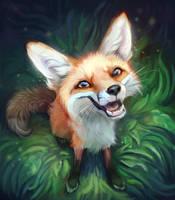 Juniper The Fox by TehChan