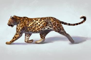 Leopard study by TehChan