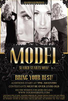 Model Flyer Template by 7styles