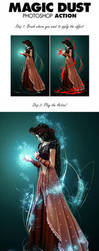 Magic Dust Photoshop Action by 7styles