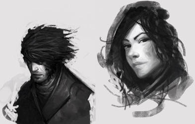 Mistborn characters by DragonLe