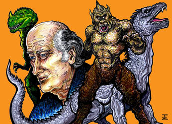Ray Harryhausen by TADASHI-STATION