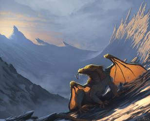 Dragon 1 by Daniel-Aubert