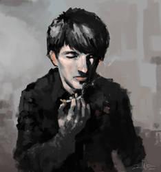 Dark sketch by Daniel-Aubert