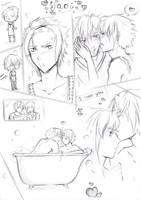 Yaoi sketch panels by AyanoNoHikari