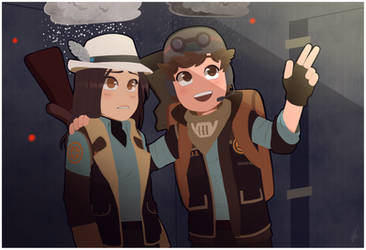 TF2 - Snipers... Snipers everywhere... by BloodyArchimedes