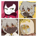 Icon commission pack number 164 by BloodyArchimedes