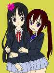Aurelia and Tokyo school in japan by heartofthewarrior13