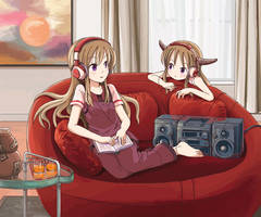 Girls are listening by pellaeon