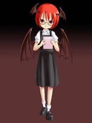 Devil Librarian by pellaeon