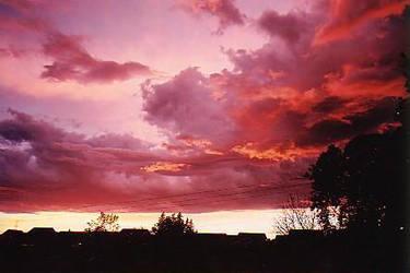 Blood Sky by A-La-Cannelle