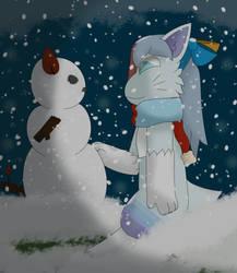 Snow time (IA) by mew190000