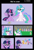 MLP: We're even by KikiRDCZ
