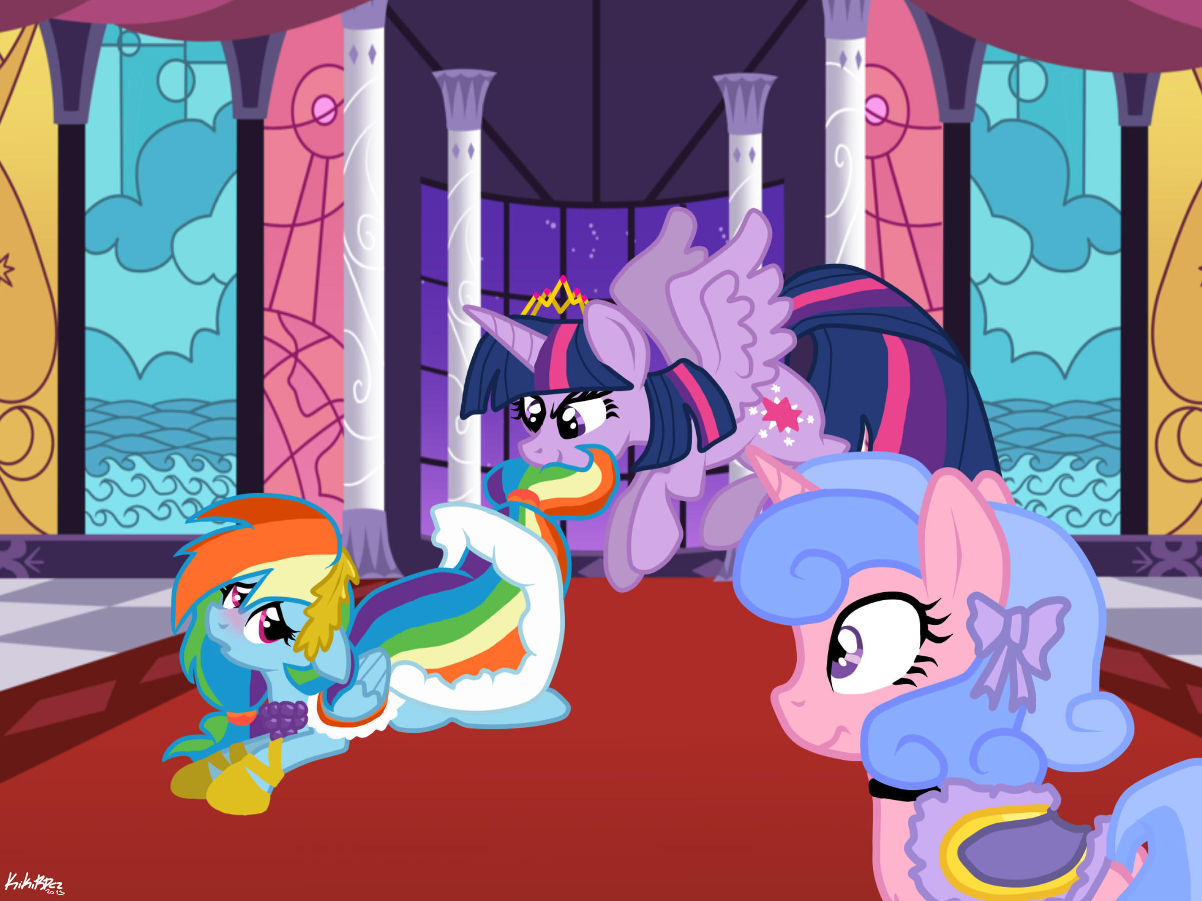 MLP: You. Me. My bed. Now! by KikiRDCZ