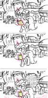 MLP: Reading minds (sketch) by KikiRDCZ