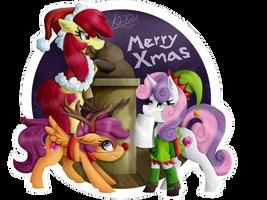 MLP: Merry Xmas! (2015) by KikiRDCZ