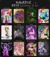 2015 Summary Of Art by KikiRDCZ
