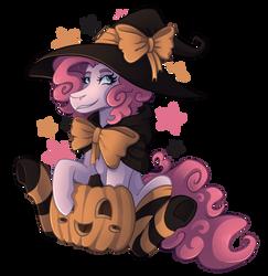 [MLP] Pink(ie) Witch by KikiRDCZ