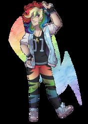 [MLP] Rainbow by KikiRDCZ