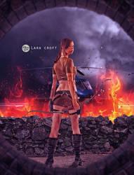 Lara Croft by monsterz-arts