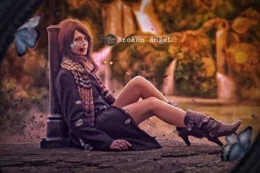 Broken Angel by monsterz-arts