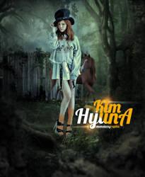 Kim HyunA by monsterz-arts