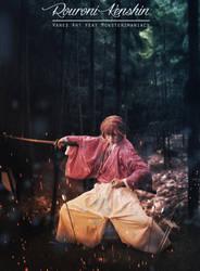 Rouroni Kenshin by monsterz-arts