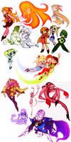 Powerpuff Girls Doodledump-1 by Busterella
