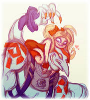 Necro and Effie by Busterella
