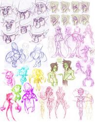 Powerpuff Girls Doodledump-13 by Busterella