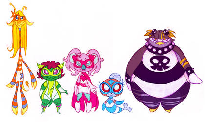 GoGo Koala and the Zoo Squad10 by Busterella