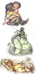 Buttercup+Ace Doodledump-5 by Busterella