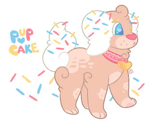 Pupcake Reference by teabearie
