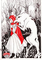 Little Red Riding Hood_ by MadCheshCat