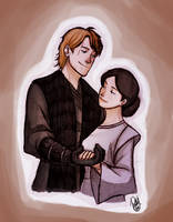 Star Wars - Anakin and Padme by Renny08