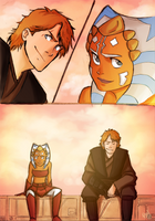 Just Anakin and Ahsoka by Renny08