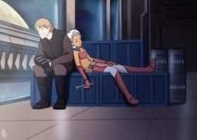 SW - Anakin and Ahsoka again by Renny08