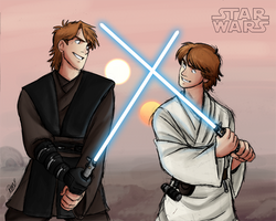 Star Wars - Like Father, Like Son by Renny08