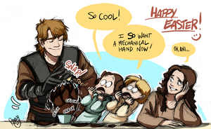 SW - Happy -belated- Easter :D by Renny08