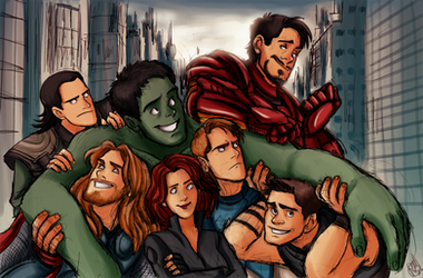 The Avengers - We Have A Hulk by Renny08